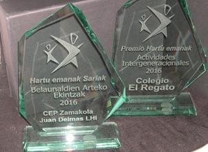 Premios HE a actividades intergeneracionales